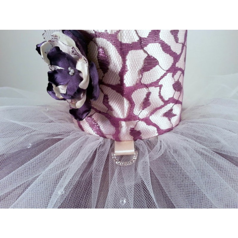 Purple Parade Dog Dress