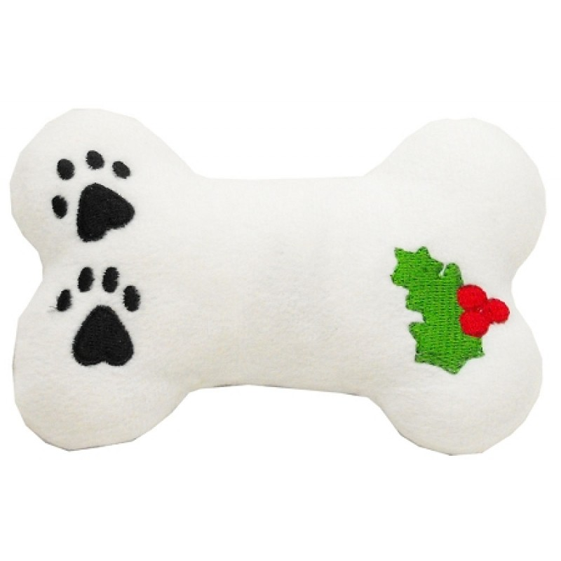 Plush Christmas Dog Toy