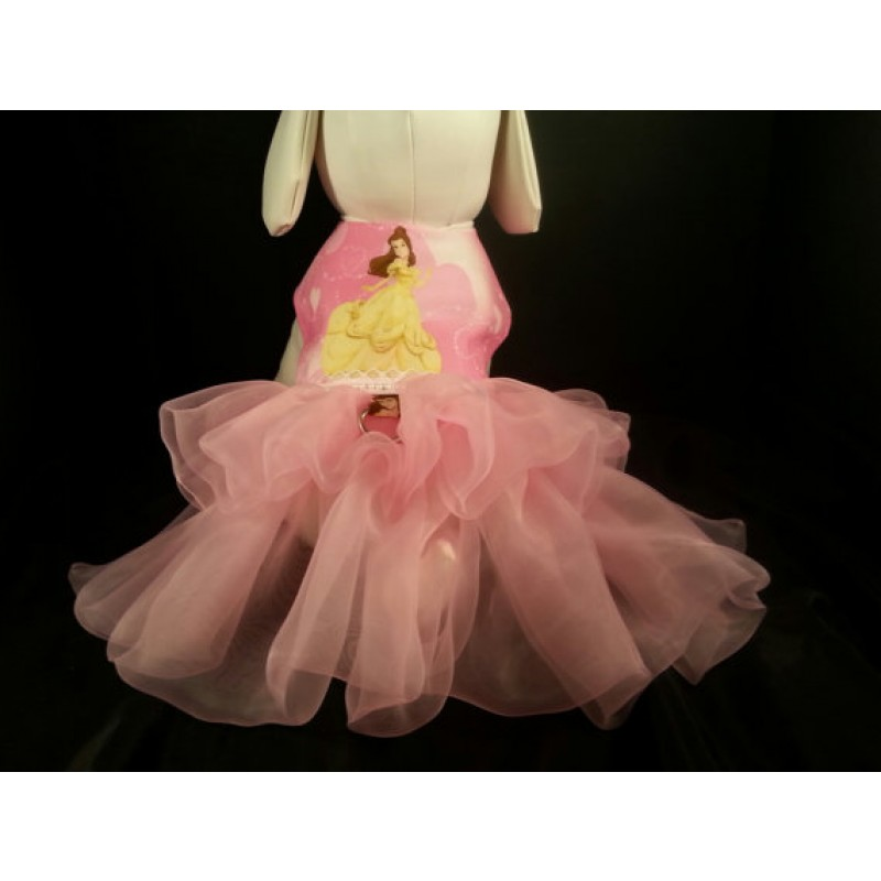 Princess Belle Dog Dress